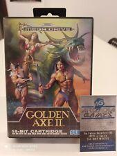 Sega Mega Drive Golden Axe II Completo PAL