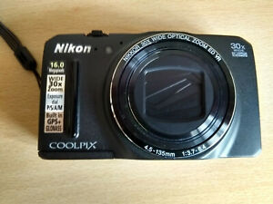 Nikon Cool-pix s9700 16-megapixel 30x optical zoom built-in Wi-Fi² and GPS