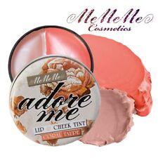 MeMeMe CORAL & TAUPE ADORE ME CHEEK & LIP TINT Blusher Gloss Stain Cream Makeup