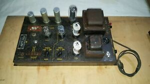 AMI D Jukebox Model DD Tube Audio Frequency Amplifier Tested see Video