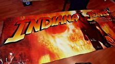 Indiana Jones Crystal Skull Original LARGE Display Banner Promo Theater Theatre