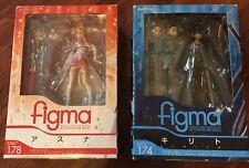 FIGMA 174 KIRITO and ASUNA 178 SWORD ART ONLINE SAO MAX FACTORY replica
