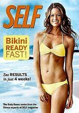 NEW DVD NO SHRINKWRAP // Self Magazine : Bikini Ready - Fast! - ELLEN BARRETT,