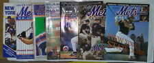 More details for new york mets game day programs x 7, 1987,1990, 1991, 1994, 1996, 2002, 2004