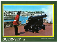 Midday Gun St Peter Port Guernsey Channel Islands Rare Cannon Picture Postcard