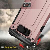 Samsung S10 A10 A20 30 40 plus model hard armor survivor tough classy case cover