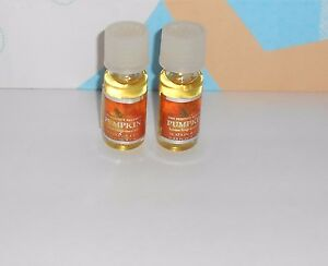Bath & Body Works Slatkin & Co The Perfect Autumn Pumpkin Home Fragrance Oil X 2