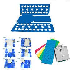 T-Shirt Clothes Folder Magic Fast Speed Laundry Organizer Folding Board Kids