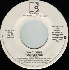 KAY T. OSLIN Younger Men ((**NEW UNPLAYED 45 DJ**)) from 1982