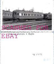 Chicago Aurora & Elgin #401 ORIGINAL VINTAGE PHOTO-Railroad