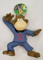 Kung Fu Monkey Squeaking Dog Toy - Made Of Soft And Durable Latex