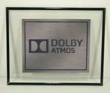 """Theater Sign Floating Frame 8""""x10"""" Photo 7""""x5.5"""" Atmos 4K Dolby Many Options"""