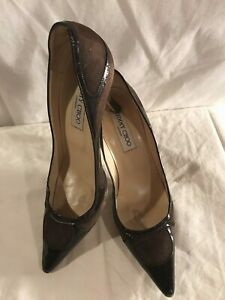 JIMMY CHOO LONDON Women's Pumps Heels Shoes Size 38 Made in Italy