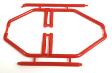 HY00165R RC 1/10 Scale Car Red Interior Roll Cage Posts Plastic