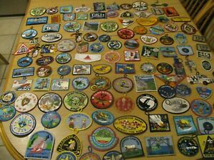 BSA Boy Scout  Mixed Lot Badges Patches Dealer Patch Lot ( 200 ) NOS Many States