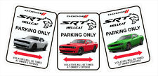 """HellCat Aluminum Parking Signs  12"""" x 9"""""""