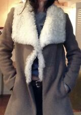 Nwot $900 Theory Orphea Spanish Shearling Jacket Open Front Sheepskin Brown S Women's Clothing Clothing, Shoes & Accessories