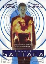 GATTACA Movie POSTER 11x17 French Ethan Hawke Uma Thurman Jude Law Gore Vidal