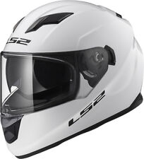 LS2 Helmet Bike Full-face Ff320 Stream EVO Gloss White XXL