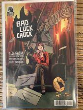 Bad Luck Chuck 1-4 Dark Horse 2019 FULL SERIES Lela Gwenn Slapstick Noir NM