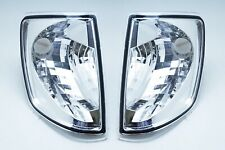 For 1985-1995 Mercedes-Benz W124 300D E320 E420 Signal Lamps Corner Lights Clear