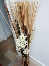 Amazing Bundle of Reed Branches With Flowers size:120 cm