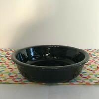 Fiestaware Black Medium Bowl Fiesta Retired 19 oz Cereal Bowl