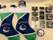 VANCOUVER CANUCKS Authentic NHL Key Chains XMas Stockings Tape Boxers Coasters