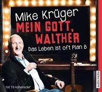 MIKE KRÜGER - MEIN GOTT,WALTHER-DAS LEBEN IST OFT PLAN B 4 CD NEU