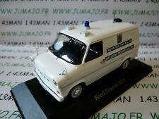 PUK3 Coche 1/43 Corgi Atlas Police (Policía) Cars: Ford Transit Metropolitan
