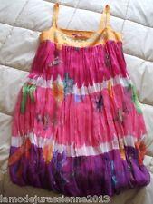 """PROMOTION : LOUISE DELLA robe modèle """"PAQUERETTES"""" neuve valeur 379€"""
