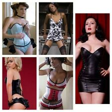 New 20pcs Liberator Leather, Silk & Satin Corsets, Lingerie & Kinky Laceup Dress