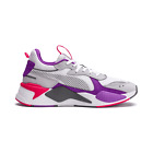 Puma RS-X Bold White Lilac Lace Up Mens Running Trainers 372715 04