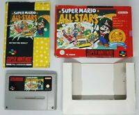 Super Mario All Stars - Nintendo Classics - Super Nintendo SNES Boxed Game VGC