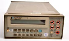Hp Agilent 3478a Dmm With Manual Works