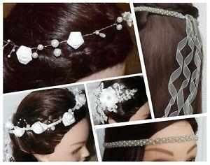 Haarkranz Kommunion Hochzeit Rosen Blumenmädchen Kopfschmuck Haarreif Haarranke