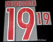 España Diego Costa 19 euro 2016 Camiseta De Fútbol Nombre/Número Set lejos Sporting Id