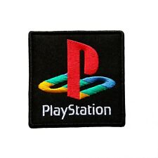 Playstation Game Console Logo Iron On Patch