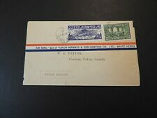 CANADA YUKON AIRWAYS EXPLORATION CO FIRST FLIGHT WHITE HORSE COVER LOT 90