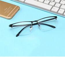 TR90 Anti-fatigue Half-rim Reading glasses metal Anti-blue light +1.0 to +4.0