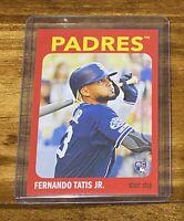 2019-20 Topps 582 Montgomery Set #1 Card of Fernando Tatis Jr. - RC- #5 - RARE!!