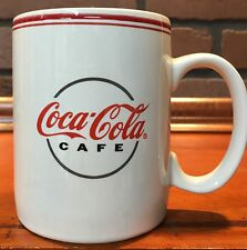 Gibson 2003 Coca-Cola Cafe Collection Mug White and Red Stock 606