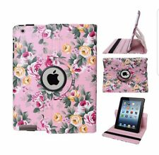 Floral case cover for apple i pad mini