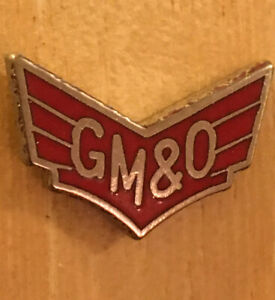 GM&O Railroad Tie Tac, Hat Pin, Lapel Pin New