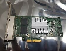 QUAD PORT GBE GE Gigabit Ethernet PCI-E 2.0 x4 IBM 49Y4242 Intel 82580 I340-T4