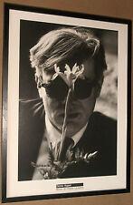 Andy Warhol framed wall art -50x70cm, Andy Warhol by Dennis Hopper