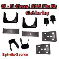 """2007 - 2013 Chevrolet Silverado / GMC Sierra 1500 Truck 6"""" REAR Flip Kit Shackle"""