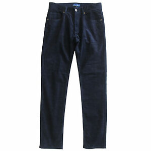 Men's Corduroy Pants Corduroy Jeans Cord Jeans Cords Pants Slim Fit New Navy