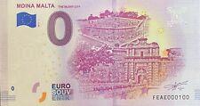 BILLET 0  EURO MIDNA MALTA THE SILENT CITY 2019  NUMERO 100