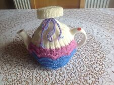HAND KNITTED TEA COSY - Lacey